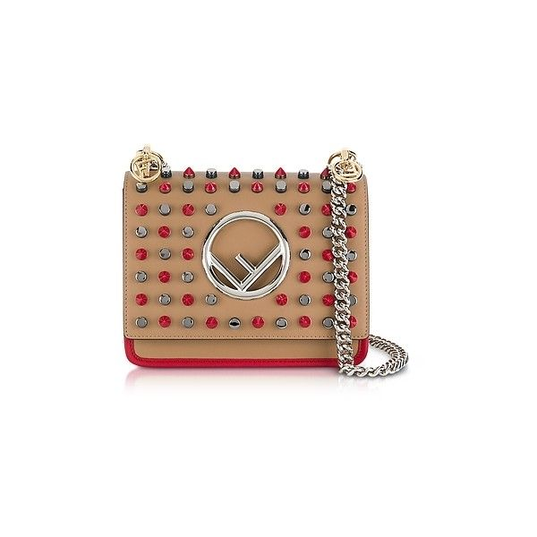 Kan I F small shoulder bag - Red Fendi Jf5rxI