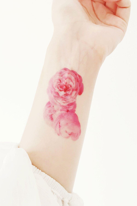 350d4ca13 Rose Bunch Temporary Tattoo   Ink Designs   Pinterest   Tatuajes ...