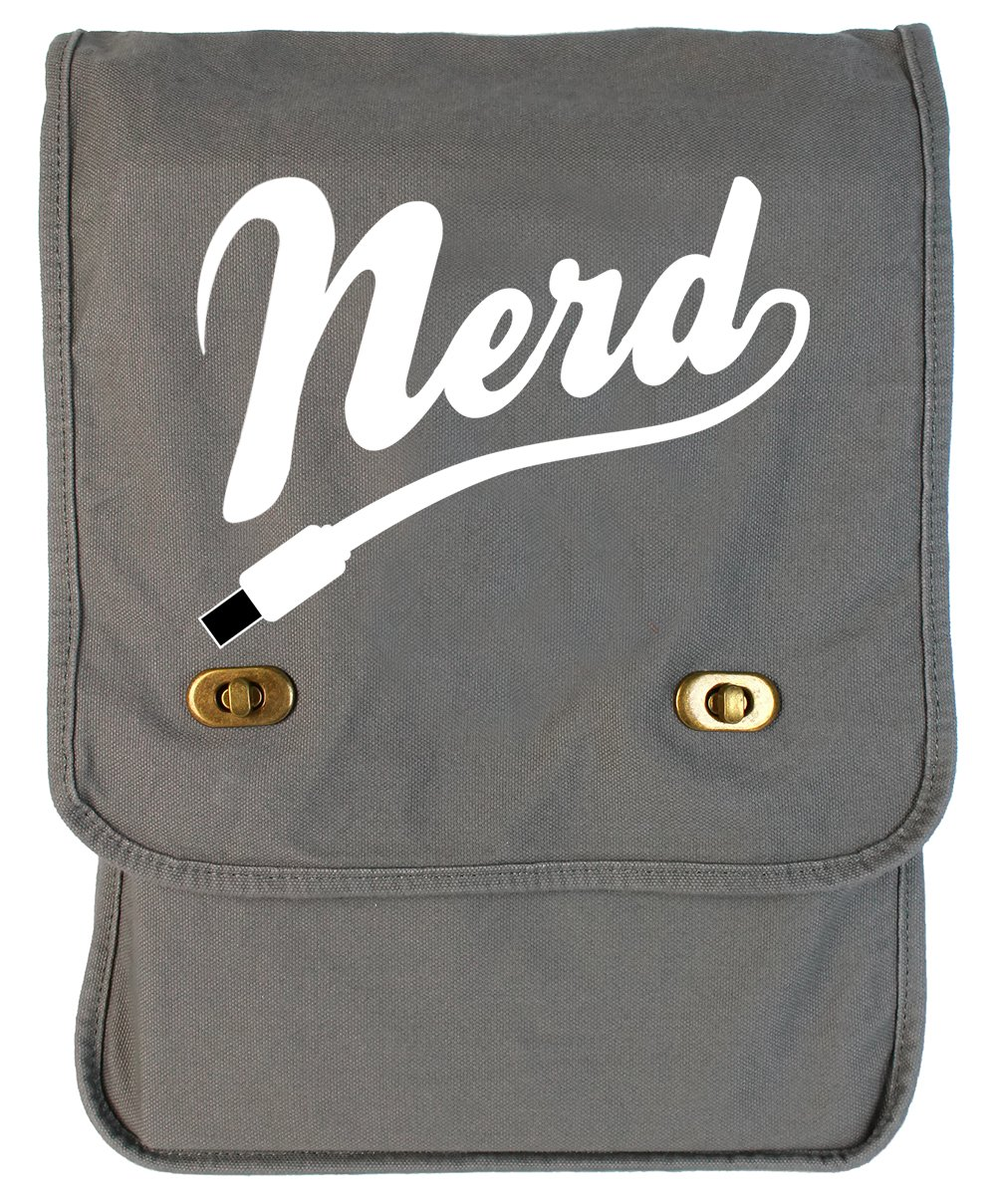 Nerd Java Canvas Field Bag