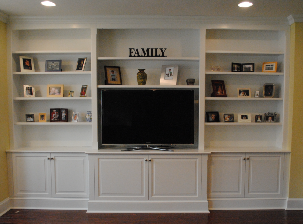 Custom Media Cabinets And Built In S Built In Tv Cabinet Built