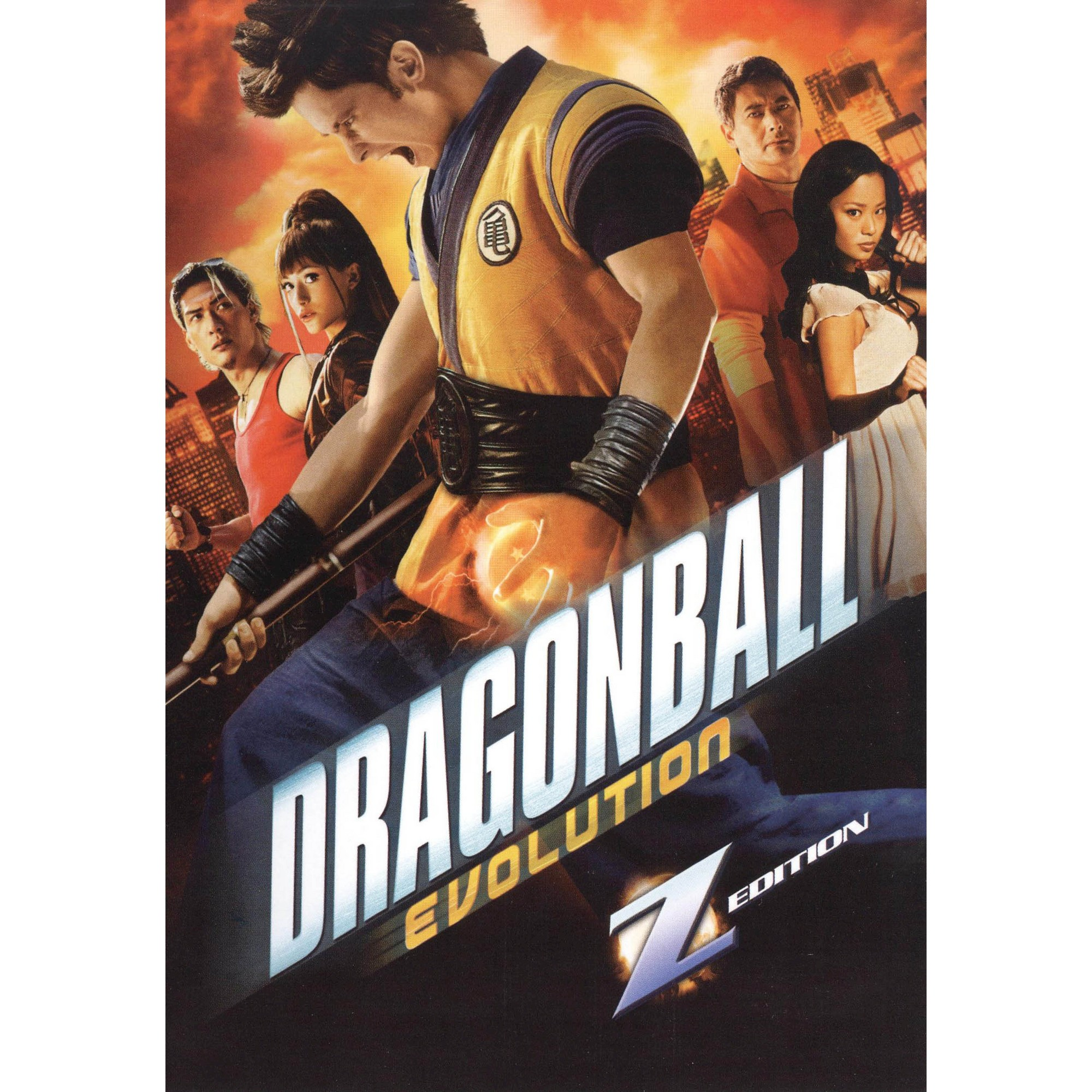 Dragonball Evolution Z Edition Dvd Video Dragonball Evolution Evolution Free Movies Online