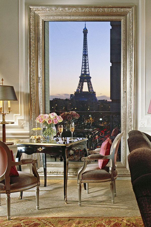 Room With A View: The 10 Most Stunning Hotel Suite Views · French ApartmentHuge  MirrorParis ...