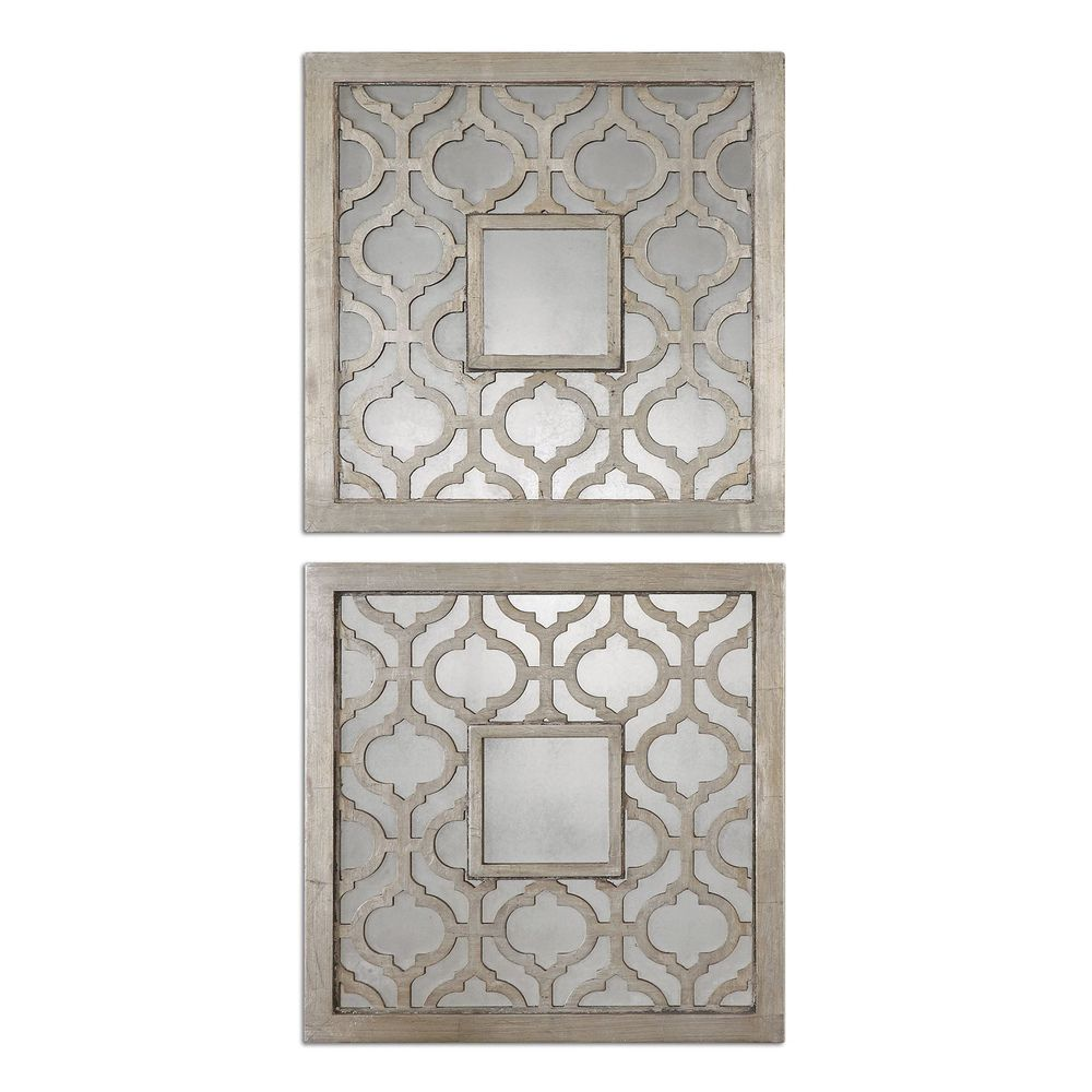 Decorative mirrors for dining room sorbolo squares decorative mirror set of   overstock