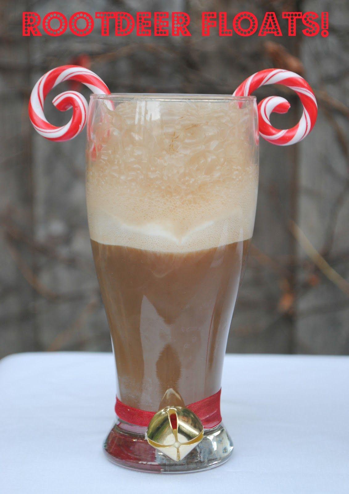Christmas Wonderful Rootdeer Floats Christmas fun