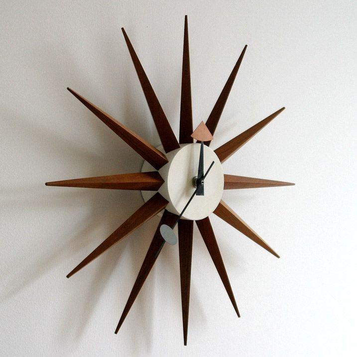 Nelson Sunburst Clock George Nelson Clock