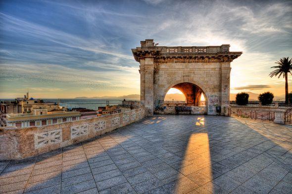 Sardinia Cagliari St. Remy bastion - need to go here
