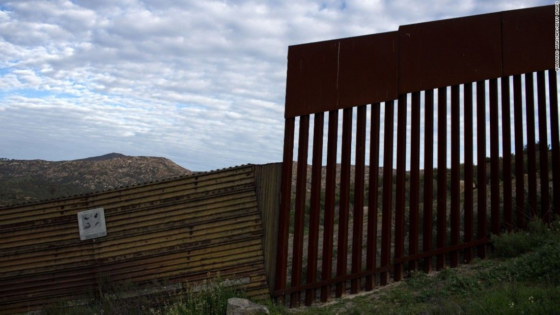 First On Cnn Border Wall Ask 1b For 62 Miles Us Mexico Border Wall Trump Wall Border