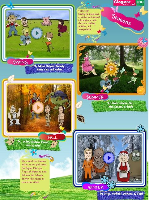 Students Use Puppet Pals App To Showcase Their Seasonal Ilearning