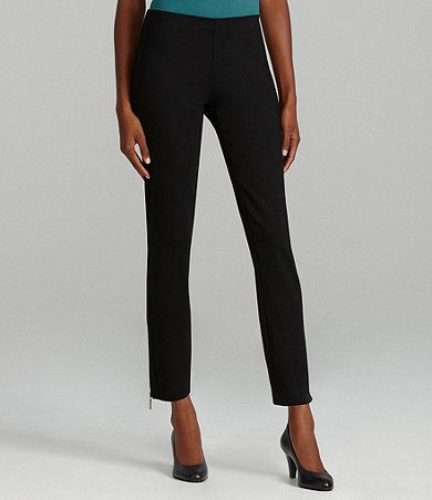 The pants for the Power of  Pink fashion show outfit by Eileen Fisher...Available at Dillards.com