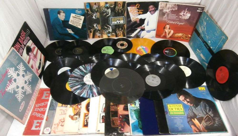 Lot of Various Artists LP Record Albums For Craft Damage