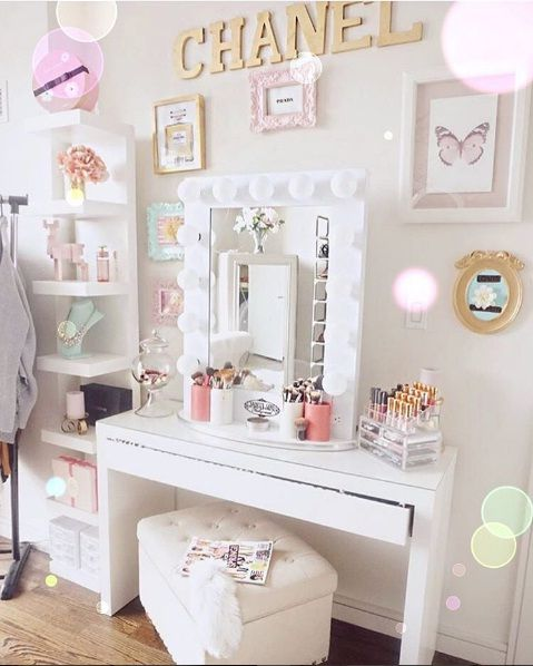 Wonderful Beautiful Vanity Décor Ideas For Springtime