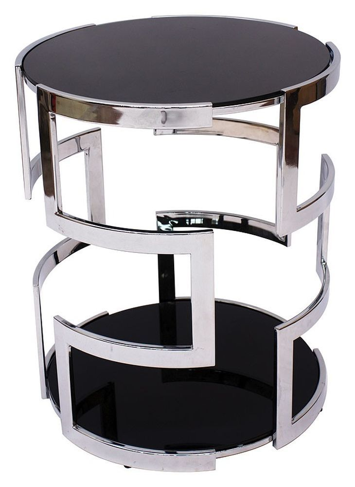 Best Andrew Martin Visconti Side Table Bedside Table Design 400 x 300
