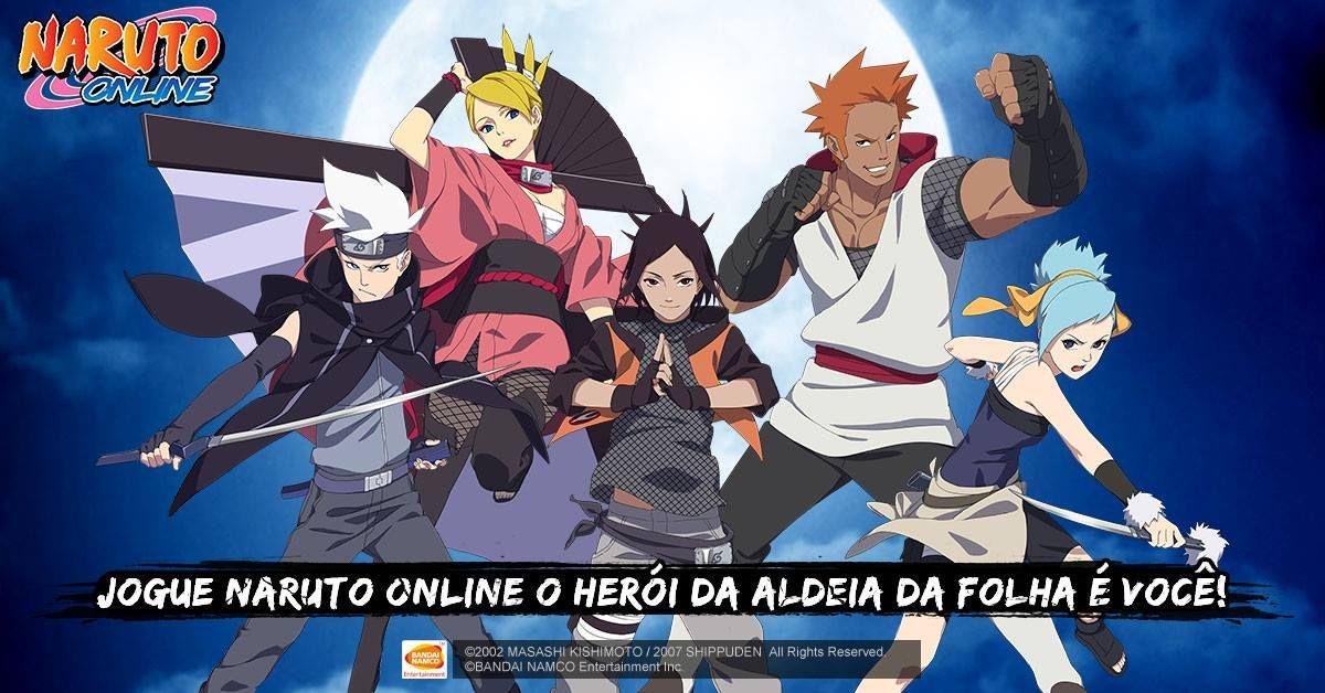 Pin Em Jogo Naruto Online