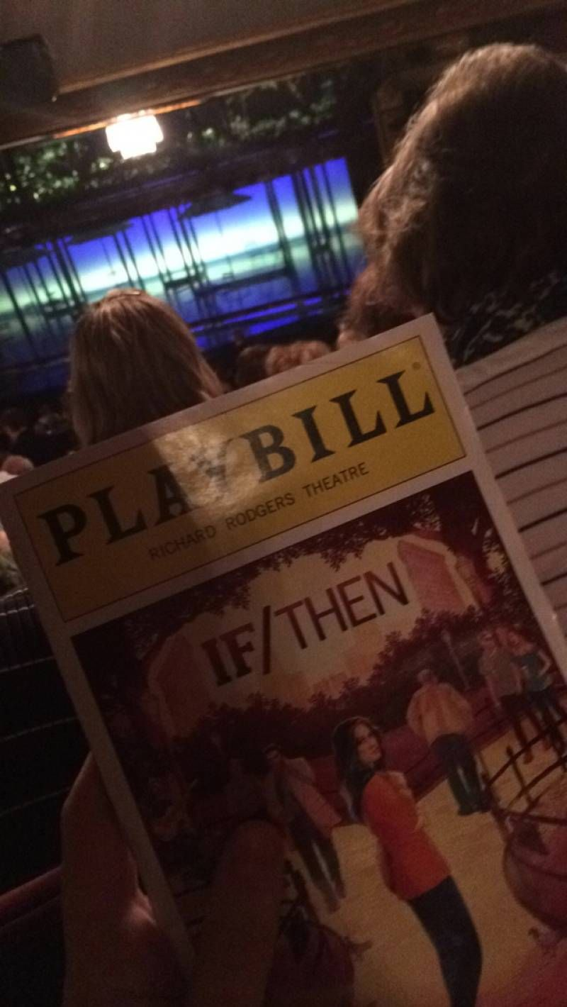 Seating View Photos From Seats At Richard Rodgers Theatre See The View From Your Seat At Richard Rodgers Theatre Richard Rodgers Theatre View Photos