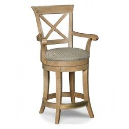 Drexel Heritage Gourmet Dining X Back Counter Stool
