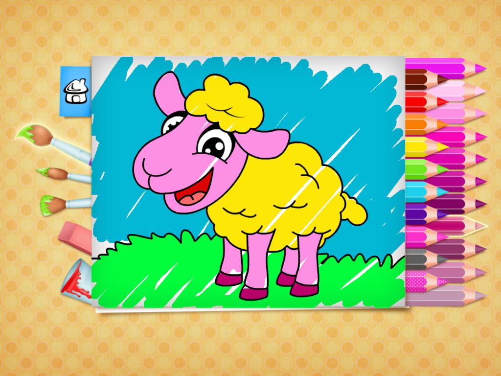 123 Kids Fun Coloring Book 123 Kids Fun Apps Coloring Books Free Easter Coloring Pages Easter Coloring Pages