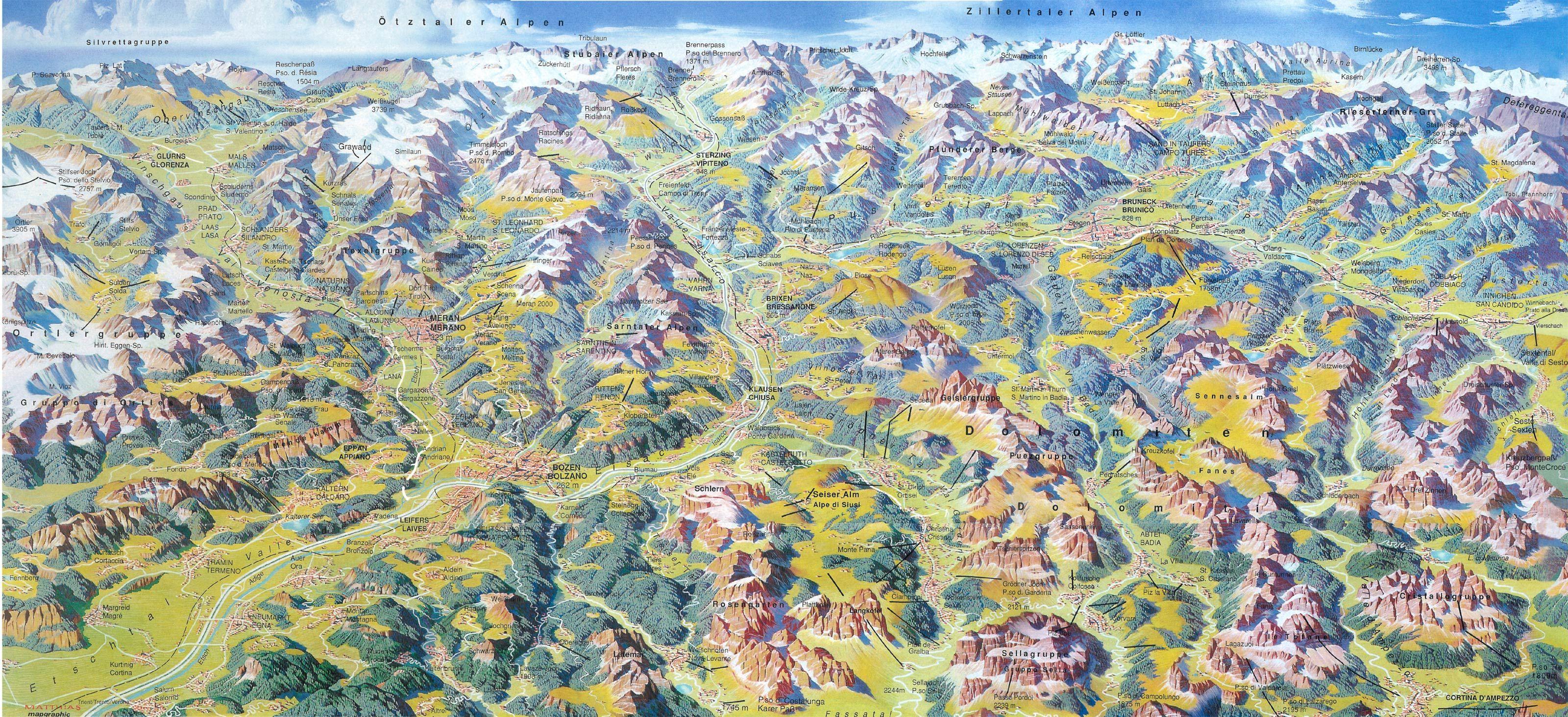 Ahnliches Foto Sudtirol Karten Alpen