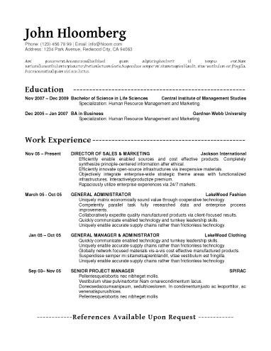 Font Appeal word Pinterest Sample resume - font for a resume