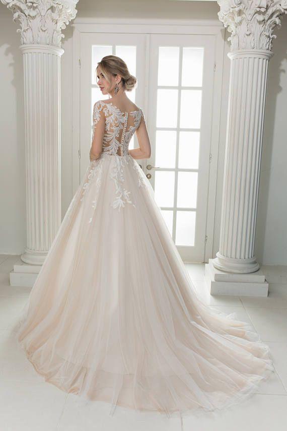 Sacura Brautkleid Farbe in Farbvarianten weis, ivory, puder oder ...