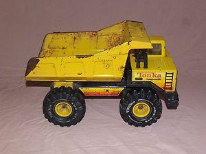 Tonka Toy Trucks >> Vintage Toys Tonka Turbo Diesel Metal Dump Truck Vintage