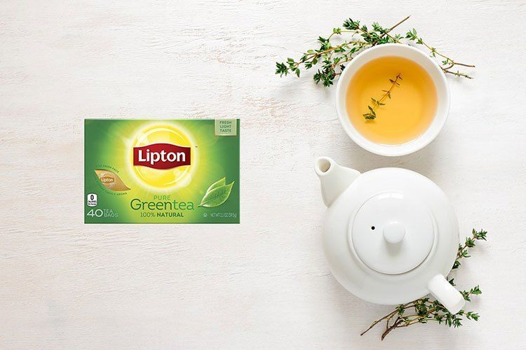 هل شاي ليبتون الأخضر ينحف إليكم ما يقوله العلم عن الشاي الأخضر والتنحيف Pure Products Lipton Tableware