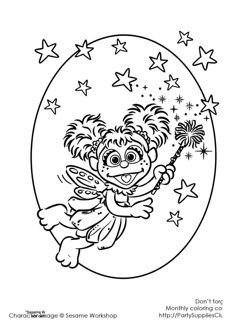 Abby Cadabby sparkles | Kids\' Coloring Pages | Pinterest | Birthdays ...