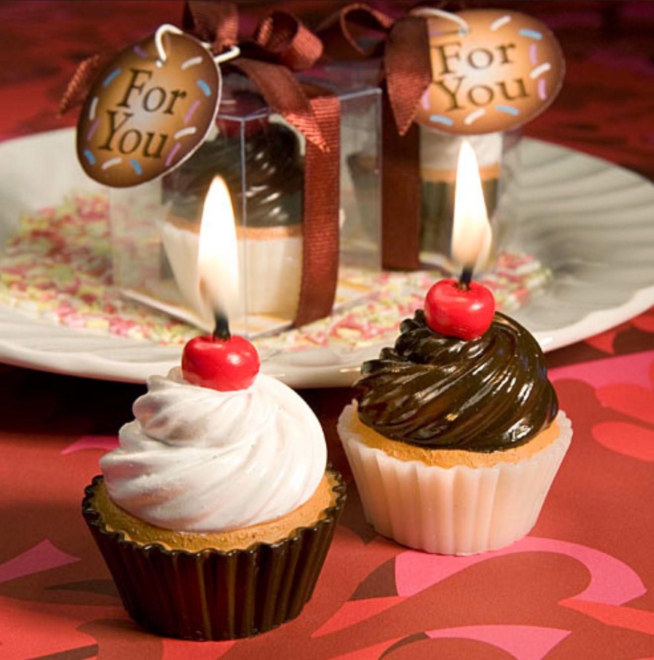 Cupcake candles unique candles pinterest cupcake candle and