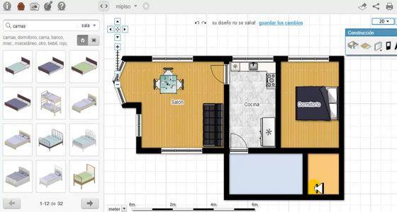 Floorplanner Is A Handy Program To Draw Floor Plans Online In 2d Or 3d Floor Planner Floor Plans Online Create Floor Plan