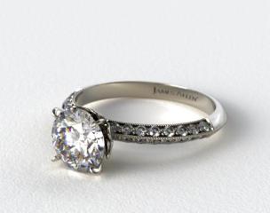 Pavé Engagement Rings   JamesAllen.com - Mobile