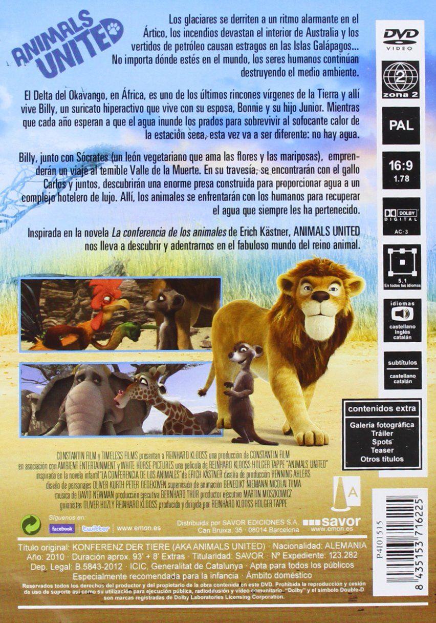 Animals United [DVD] Animals, United, DVD Dvd