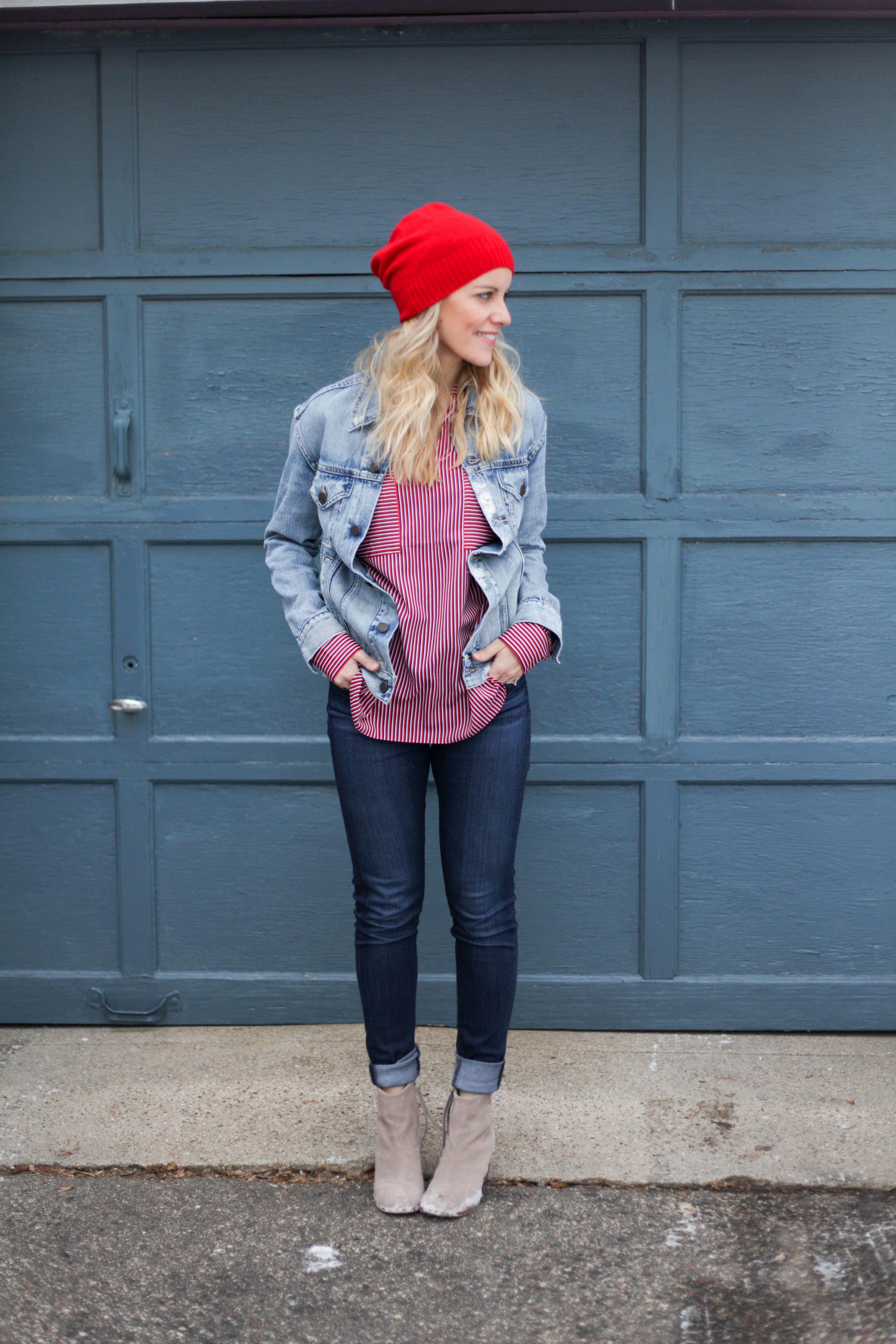3 style tips for how to wear a denim jacket!  fallfashion  denimjacket a39833b3c