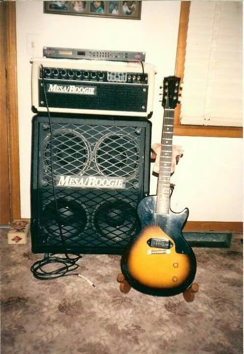 Mesa Boogie Mark ii C+ and 1956 Les Paul Jr.