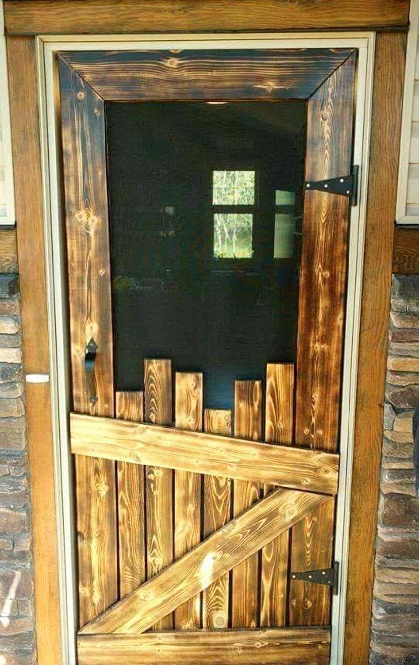 Pallet Projects 19 Clever Crafty And Easy Diy Pallet Ideas Clever Diy Ideas Barn Wood Decor Diy Screen Door Rustic House