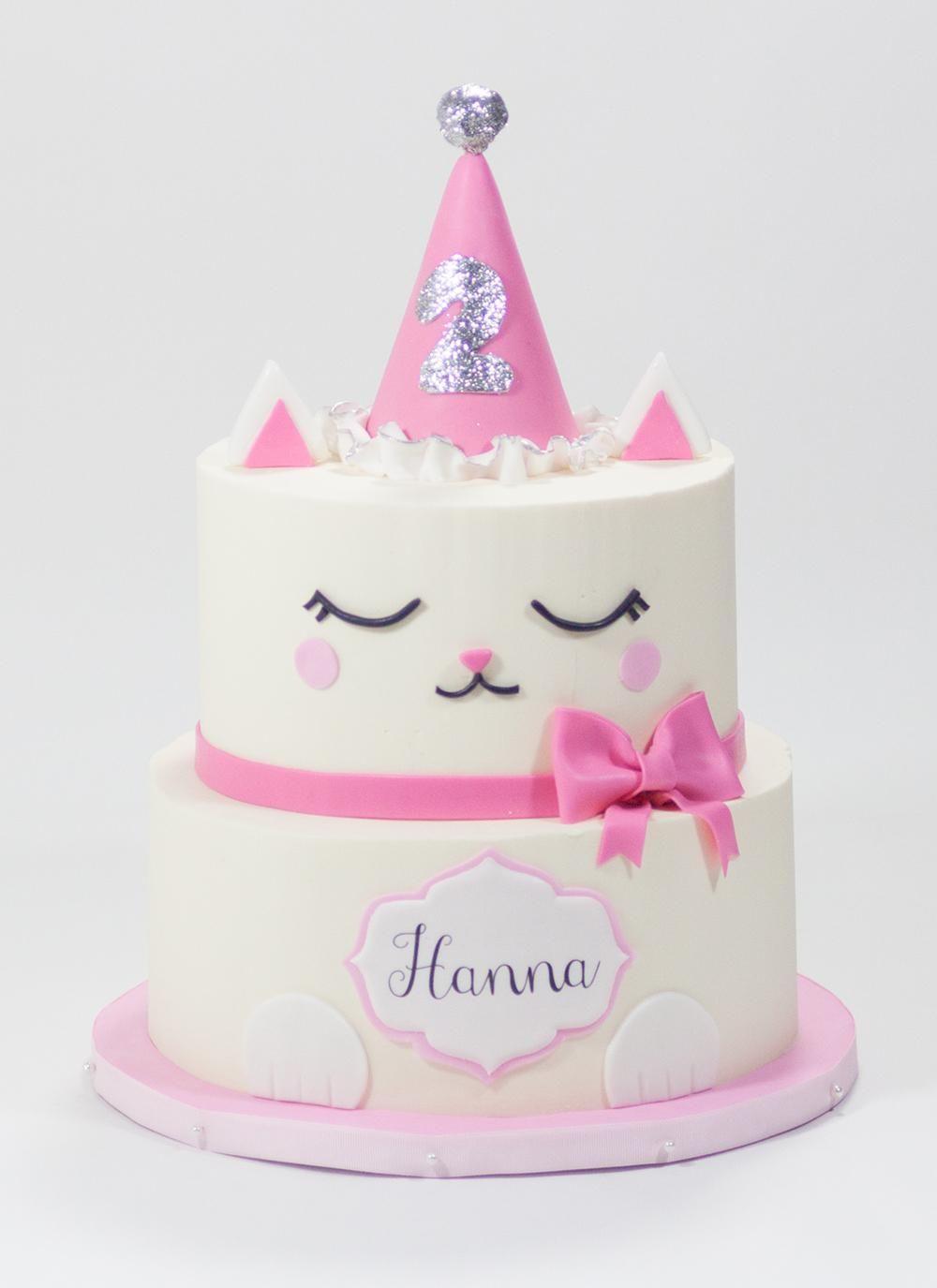 Kitty Cake Birthday Cake For Cat Cake Cat Cake