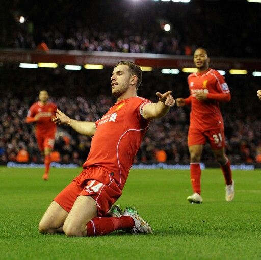 Henderson after scored