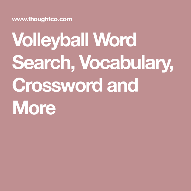 learn about volleyball with free volleyball printables