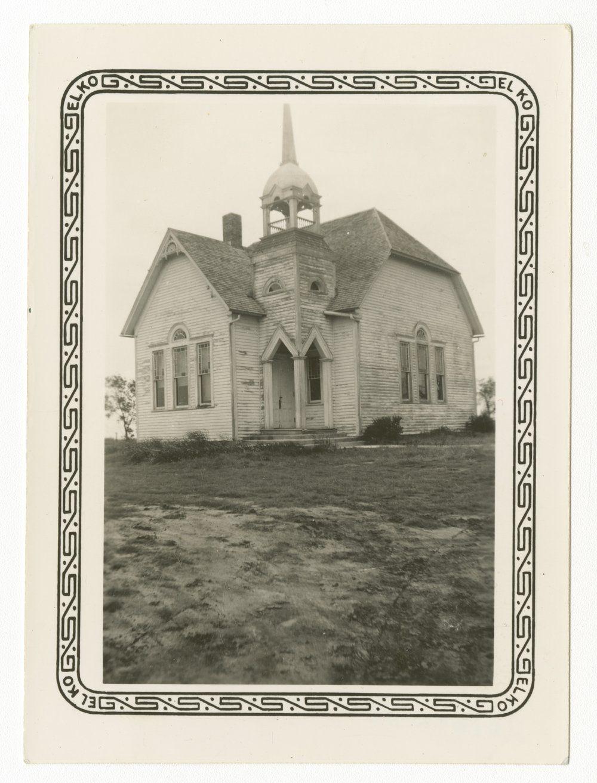 Kansas dickinson county solomon - Kansashistory College Hill Presbyterian Church In Dickinson County