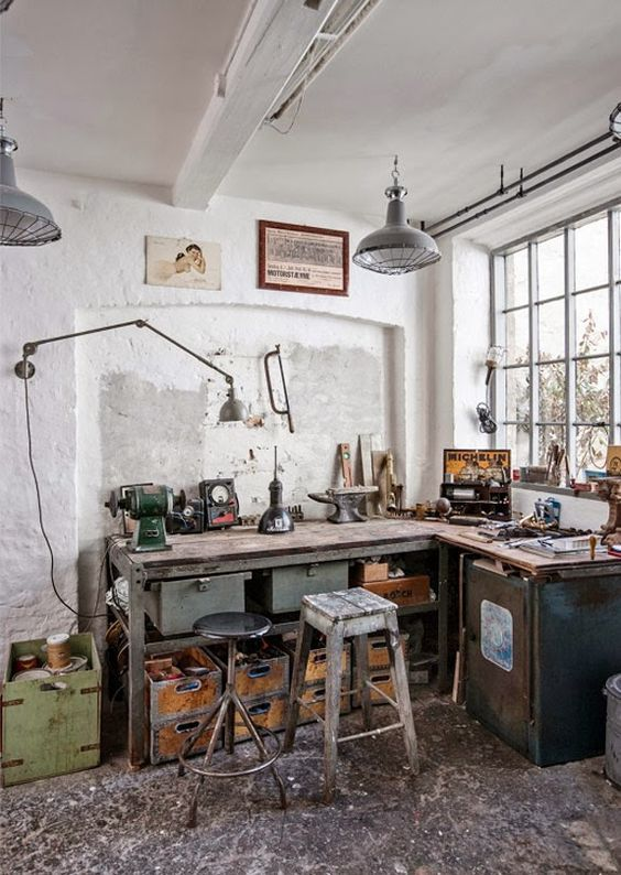 Office Inspiration | Industrial