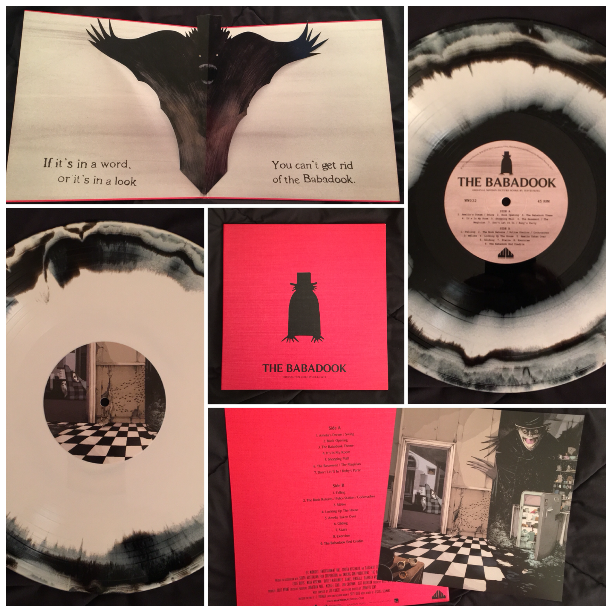 Original Film Score The Babadook Pop Up Gatefold Jacket On Colored Vinyl I Love Waxwork Records Their Releases Are Spect Babadook Beautiful Words Waxwork