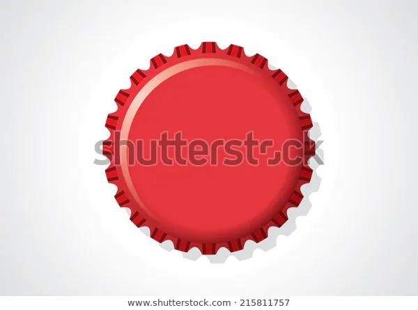 Stokovaya Vektornaya Grafika Red Soda Bottle Cap Vector Illustration Bez Licenzionnyh Platezhej 215811757 Vector Illustration Vector Image