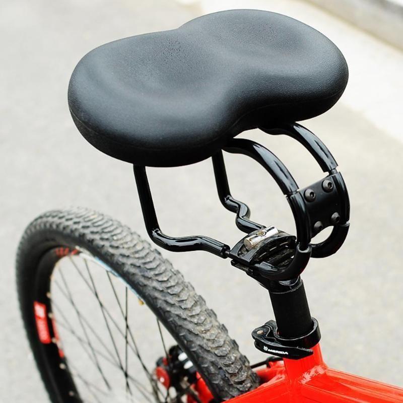Bike Saddle Bicycle Ergonomic Padded Noseless Mtb Soft Cushion Pvc