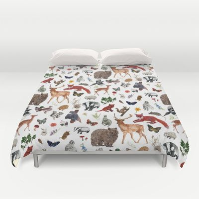Wild Woodland Animal Duvet Cover Google Search