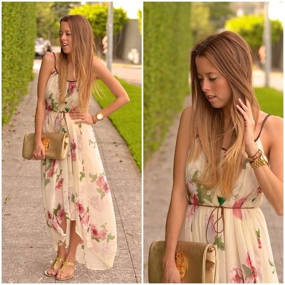 AFTERNOON FLOWERS (by Raquel Cañas) http://lookbook.nu/look/4651819-AFTERNOON-FLOWERS