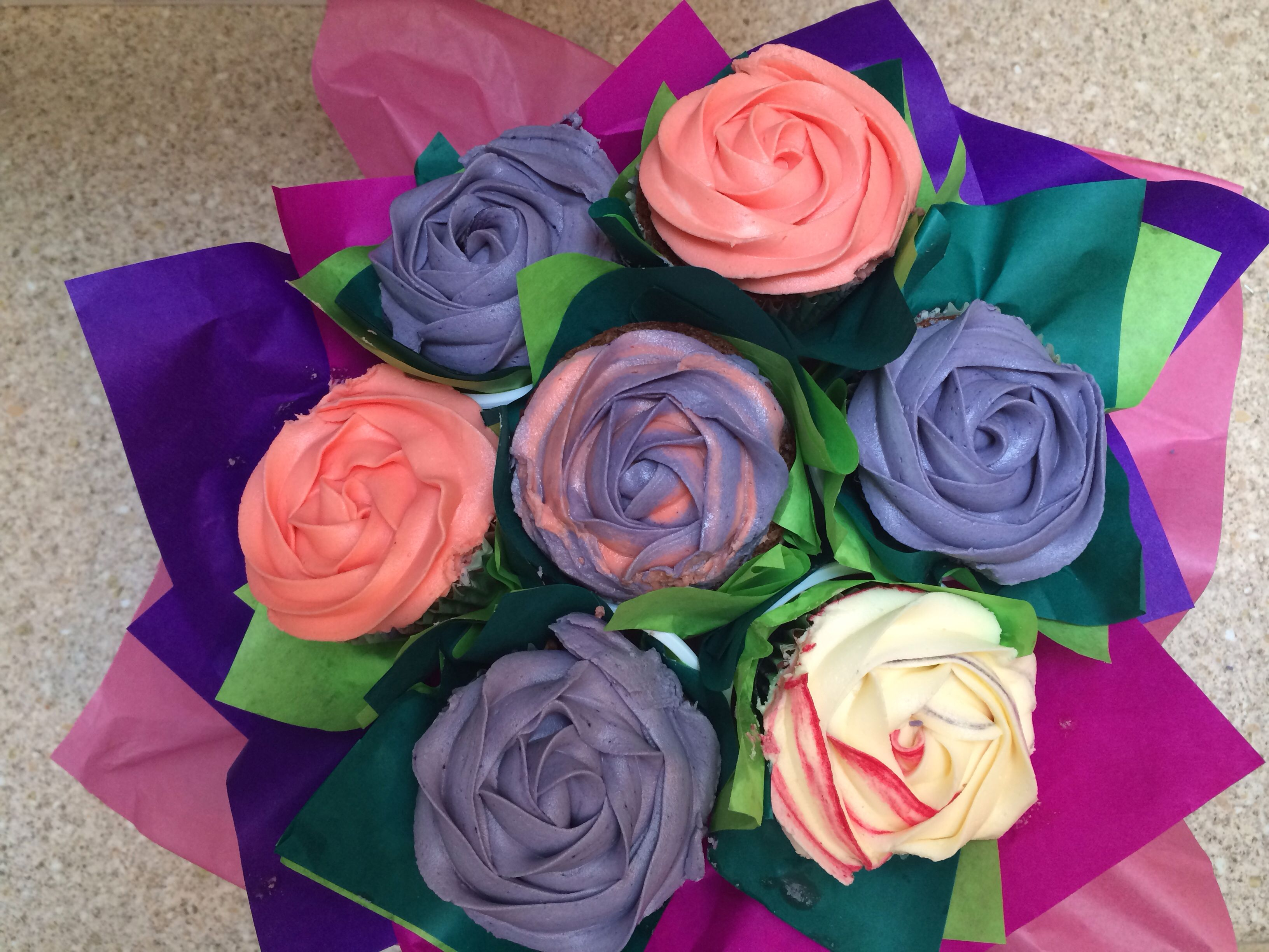 Birthday bouquet for my bestie cupcake bouquets by corinne