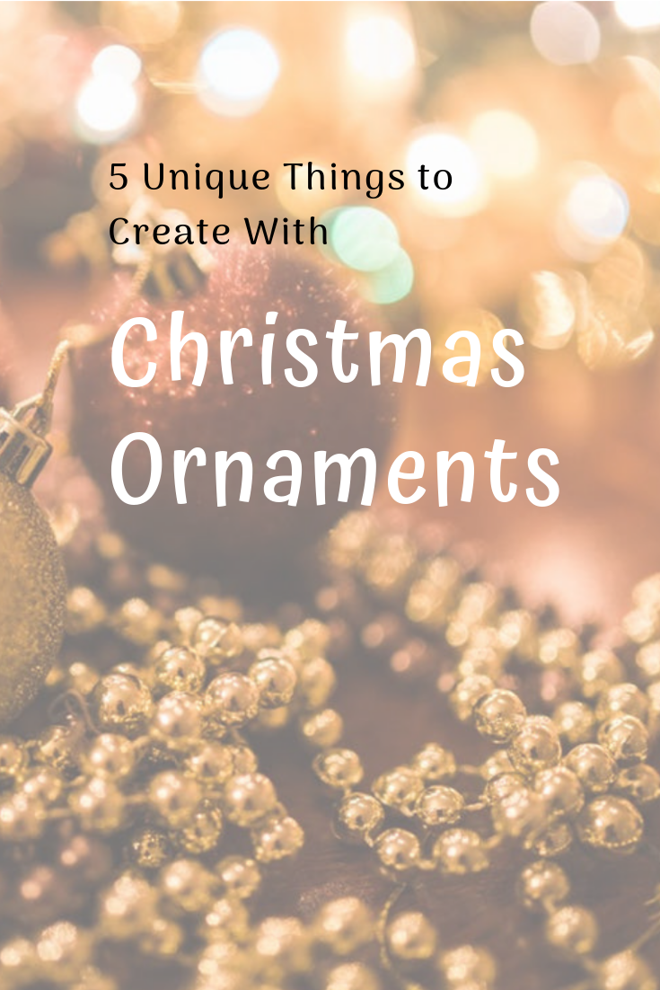 5 Unique Things to Create with Leftover Christmas Ornaments | Happy christmas day, Christmas ...