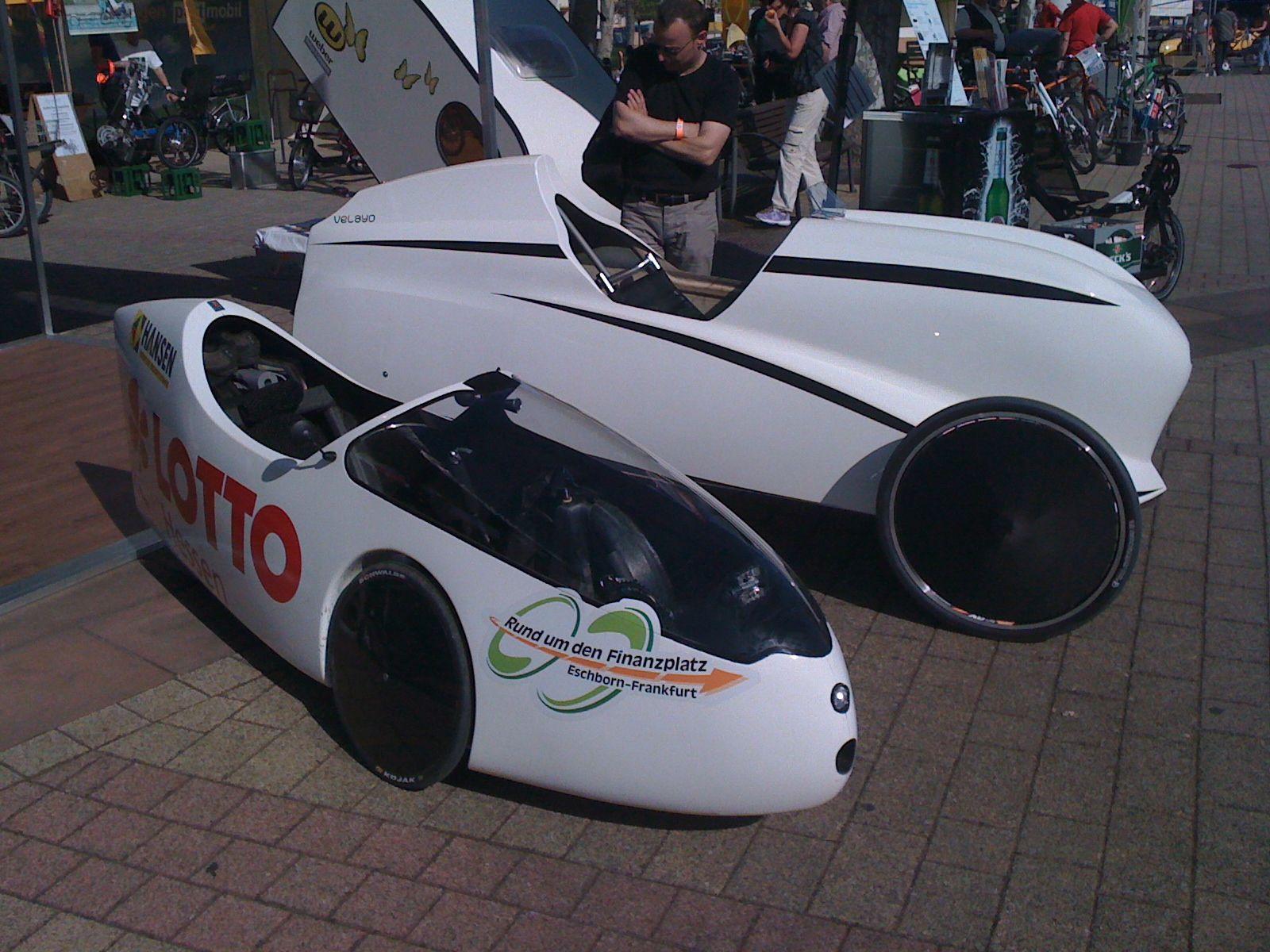 Velayo and Go-One Evolution Velomobiles   lw vehicle   Pedal