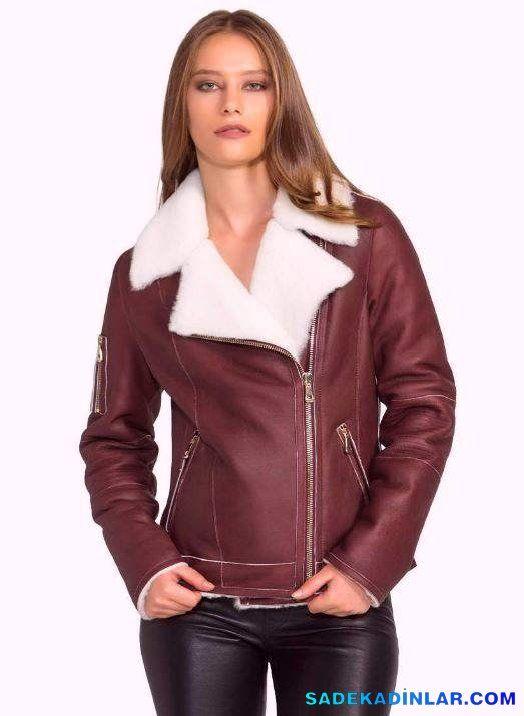 Sonbahar Icin En Sik Bayan Deri Ceket Modelleri Deri Ceket Moda Stilleri Moda