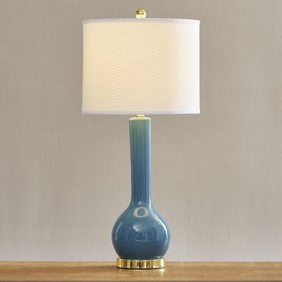"Brayden Studio Mcnally Long Neck 30.5"" Table Lamp Base Color:"