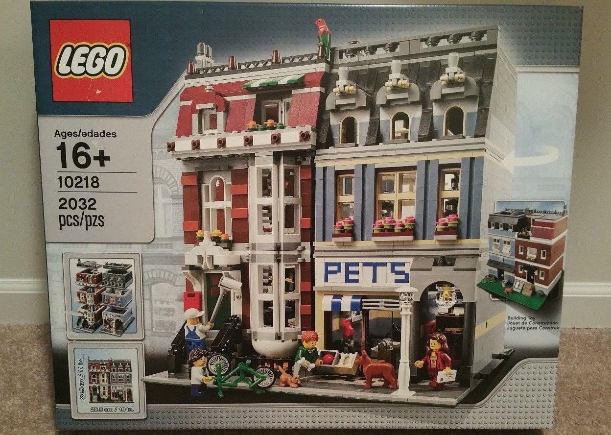 LEGO Creator Modular Building Pet Shop set 10218 Brand New Sealed https://t.co/l3YbF79uUm https://t.co/IqdoyQZtNi