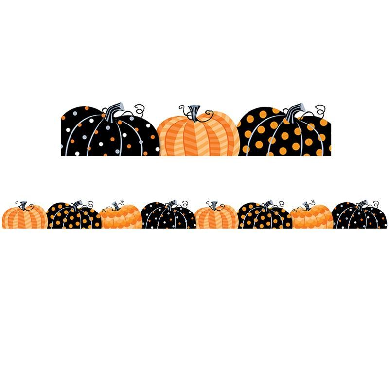 Creative Teaching Press Pumpkin Patch Bulletin Board Border #pumpkinpatchbulletinboard